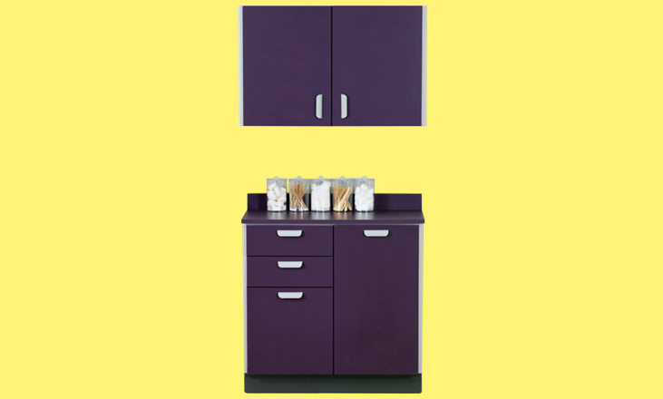 wall and base cabinet and